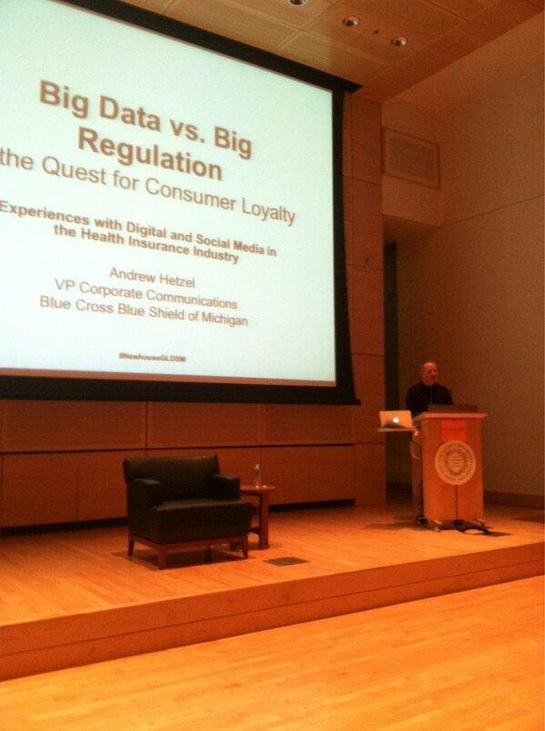 Thumbnail for Big Data vs. Big Regulation with Andrew Hetzel 2/27/13
