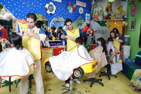 : صالونات حلاقة الاطفال : اطفال