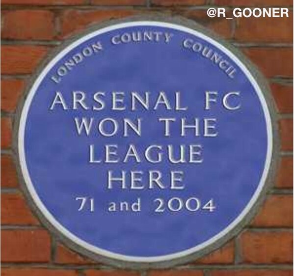 BEOE5FXCEAA8ANN Picture: Arsenal fans start a campaign to put up a blue plaque at White Hart Lane