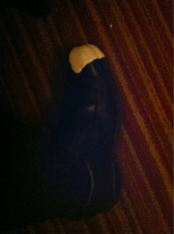 "Welcomed to the @BadgerMHockey team tonight with a ""shoe check"" at dinner. #FirstTimeRoadTripper http://pic.twitter.com/LIjbqPUUMq"