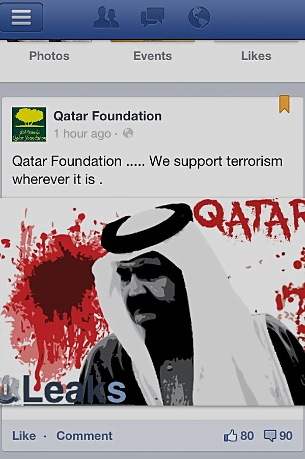 Hack gone wack @qatarfoundation http://pic.twitter.com/anfv2YjpkY