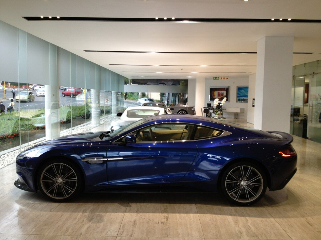 aston martin sa on twitter welcome to aston martin sandton new avimore blue vanquish. Black Bedroom Furniture Sets. Home Design Ideas