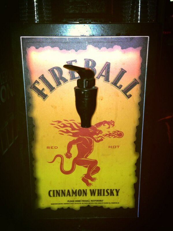 fireball chilled machine
