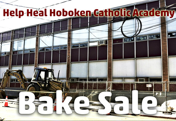 Displaced #Hoboken Catholic Academy parents holding bake sale tomorrow 12-3pm @hobokenwindmill http://pic.twitter.com/2BOcmzjeQS