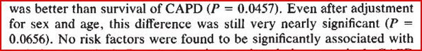 "There's 'nearly' not, and then there's 'very nearly' not: ""very nearly significant (P=0.0656)"" #stillnotsignificant http://pic.twitter.com/bCOhpDvqCx"