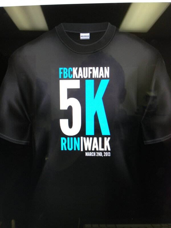 Let's have a 5K!  #FBC5K