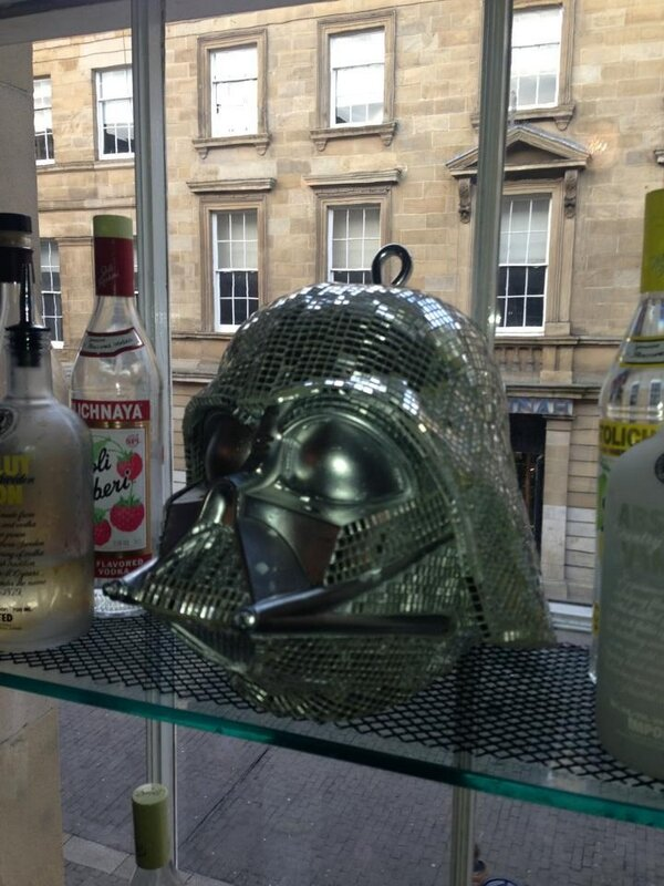 Check out this Vader disco head in the very best bar in Newcastle @NO28_tweets #StarWars #DarthVader http://pic.twitter.com/YAAAVshKaO