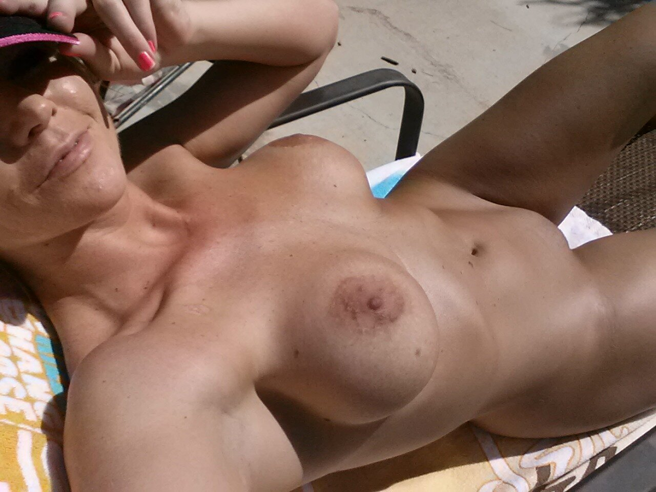 Naked hairy chested flat girl small tits