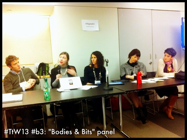 Thumbnail for Bodies & Bits at #TtW13 (#b3) -- March 2nd, 2013 at Graduate Center CUNY