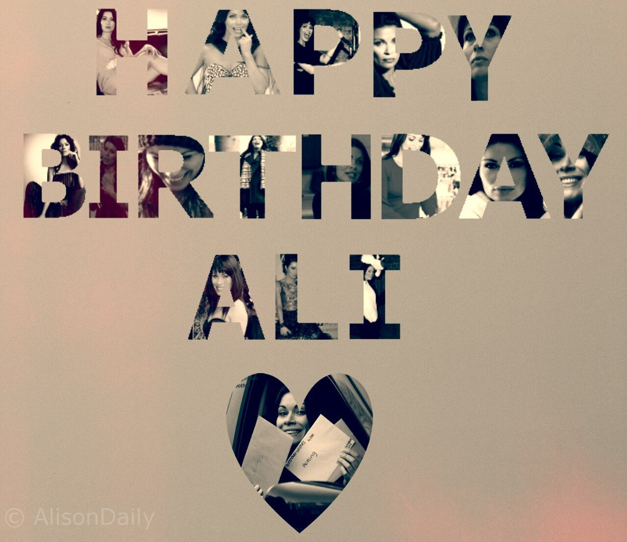 Alison King On Twitter It S Alison S 40th Birthday Today Happy Birthday Ali Http T Co Bpbvojhimd