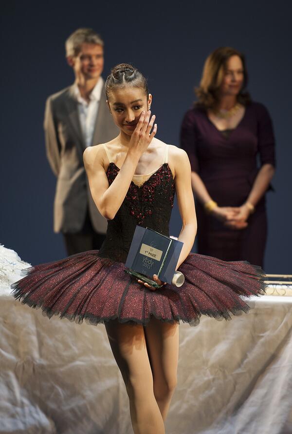 Royal Ballet School on Twitter...