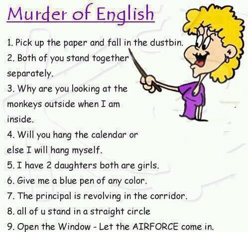 Twitter / JoyAndLife: #BadEnglish Classics ...