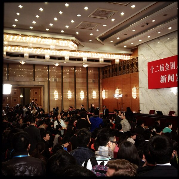 Too many reporters, not enough space at NPC presser http://pic.twitter.com/UeYix3WL49