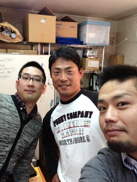 桧山さん突然襲来なう! http://t.co/55Z3lqnH2q