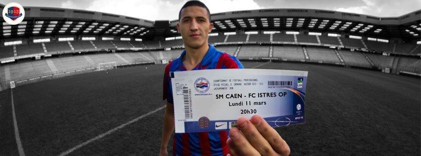 [28e journée de L2] SM Caen 1-0 FC Istres BEfxXYWCUAE17yH