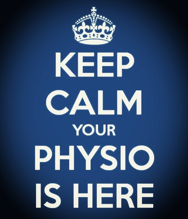 KEEP CALM YOUR PHYSIO IS HERE