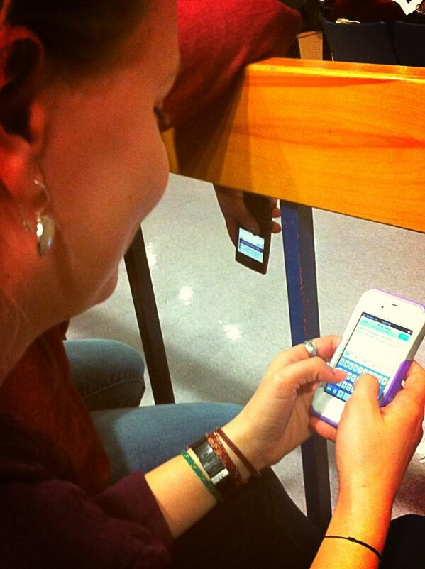 @LisaRitter12 tweeting about the proposed $60,000 increase to the budget for a fire truck and parade funds. #tmd2013 http://pic.twitter.com/aIzYmTwLfG