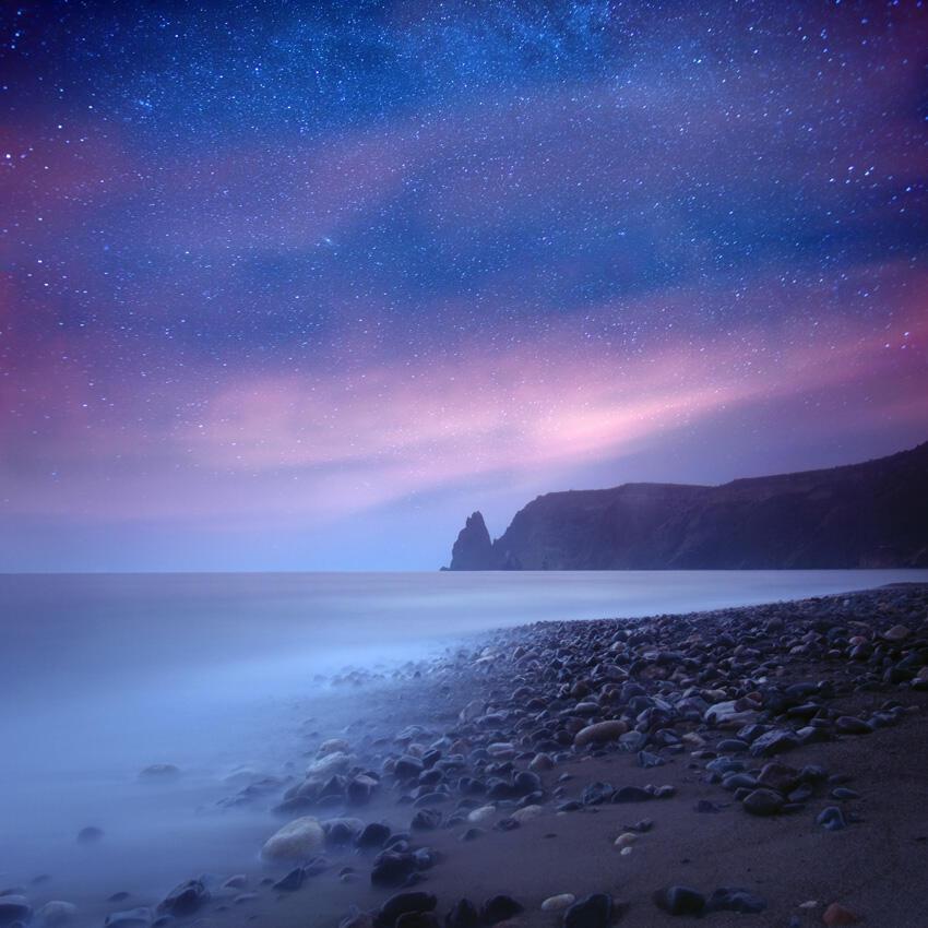 это фото звездная ночь фиолент артиллеристы ведут