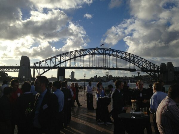 What a day in Sydney for #DataForward #simpana10 launch event. Over 200 in attendance at the Opera House. http://pic.twitter.com/cwr0IE5TDf