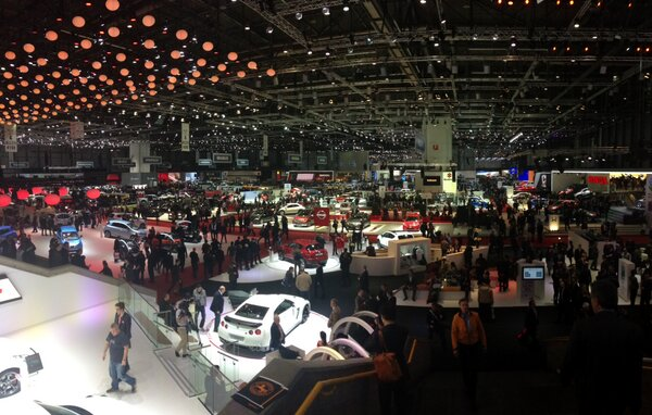Twitter / saddbaynes: The Geneva Motor Show! I've ...