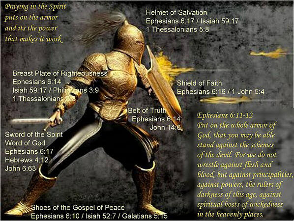 Put on the Full Armor of God daily!  http://t.co/AuMHn0cRKQ