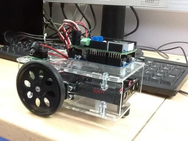 Picture of the Arduino Powered Buggy