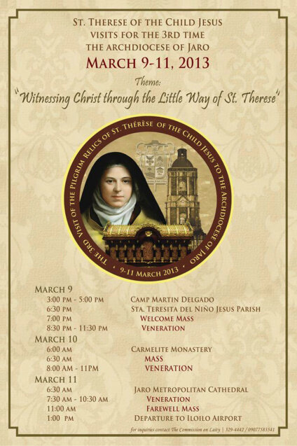 St  Therese's Relics on Twitter: