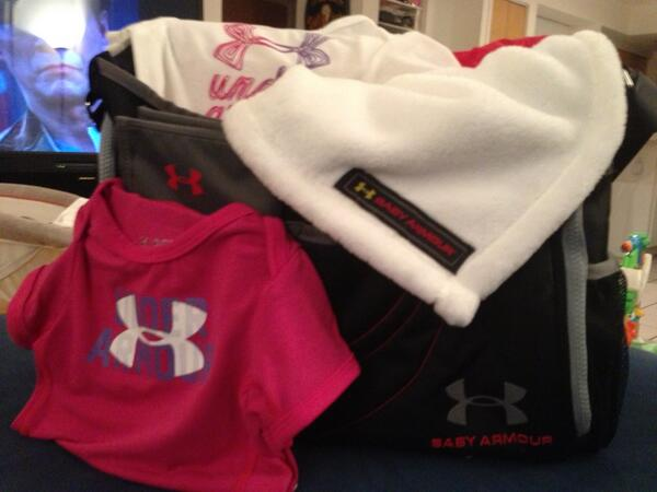 Mario Moccia On Twitter Ua Baby Armour Diaper Bag Blanket Gear Gift The Best Footwear Arel Company To B Affiliated With Bar None