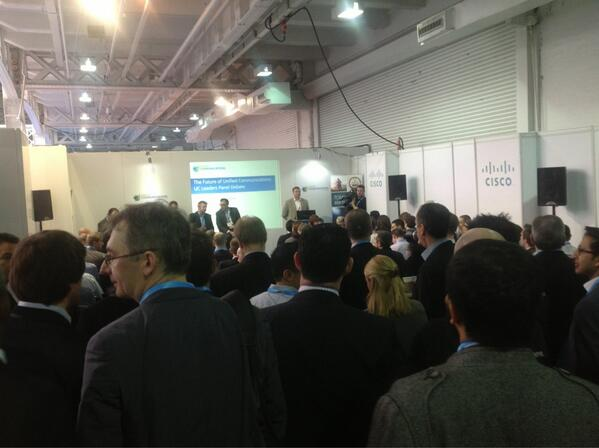 Twitter / ucexpo: Great turnout for the Panel ...