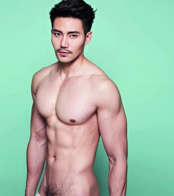 Thai hunk model