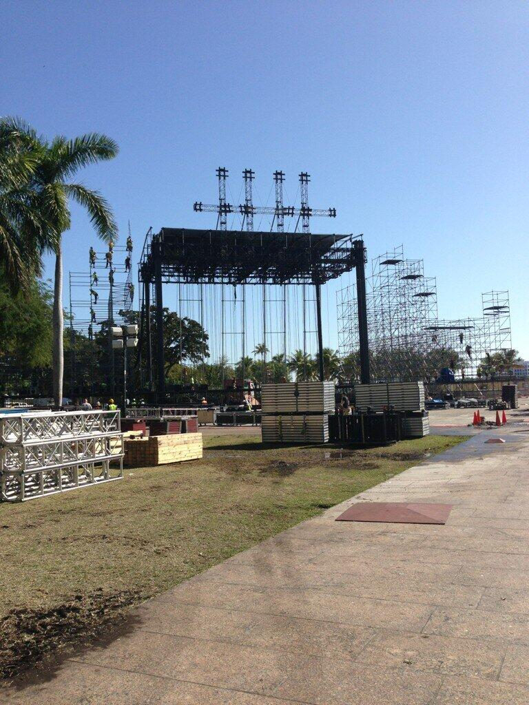 Ultra Stage Construction Some Stage Construction