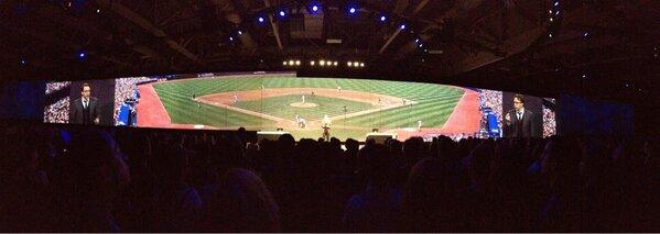 Twitter / tgwilson: We're at the ballpark at ...