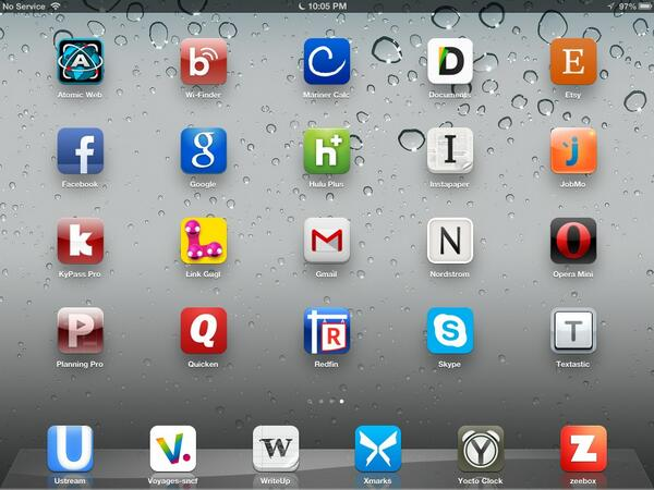 Twitter / joekissell: The iOS alphabet. Because someone ...