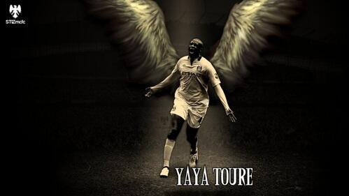 Yaya Toure Iphone Wallpaper