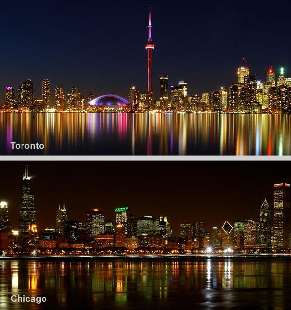 @graham_angus @CP24 @NeilSteinberg @Suntimes How can you even compare skylines?!  Hands down Toronto! http://pic.twitter.com/M8bdwgp5fl