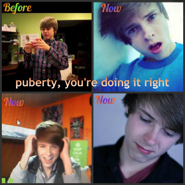 Accept. puberty doing it right