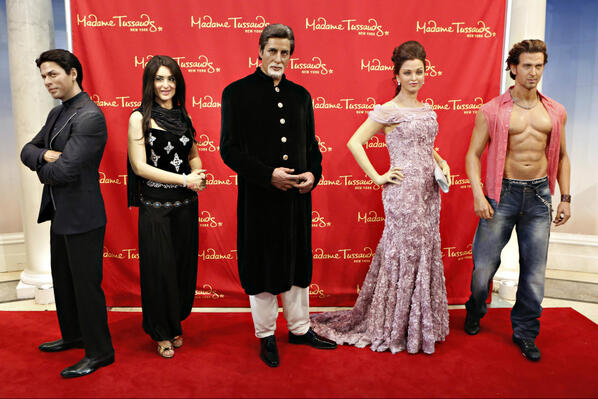 Twitter / NYCWax: #Bollywood Exhibit Unveiled! ...