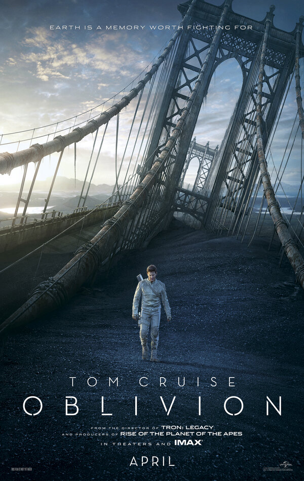 Twitter / OblivionMovie: .@TomCruise is Jack Harper, ...