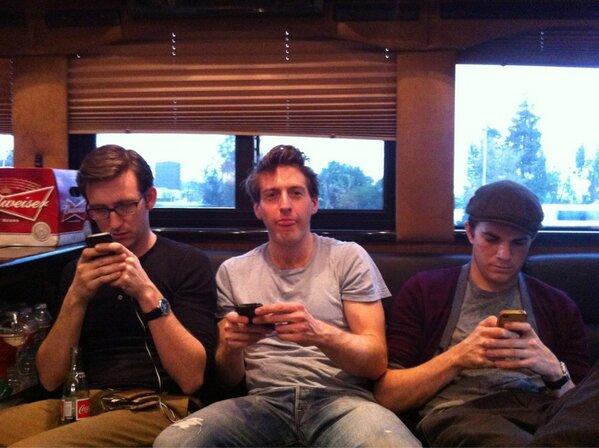 @frankranz @BJMcElhaney @NickKocher excelling at social media. CA -> TX on a bus. #muchadosxsw #busado #sxsw http://pic.twitter.com/EpxjoQL4jW
