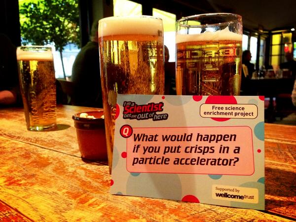 We've made it to the pub #ias2013 #lol http://t.co/1dvQpBWXbR