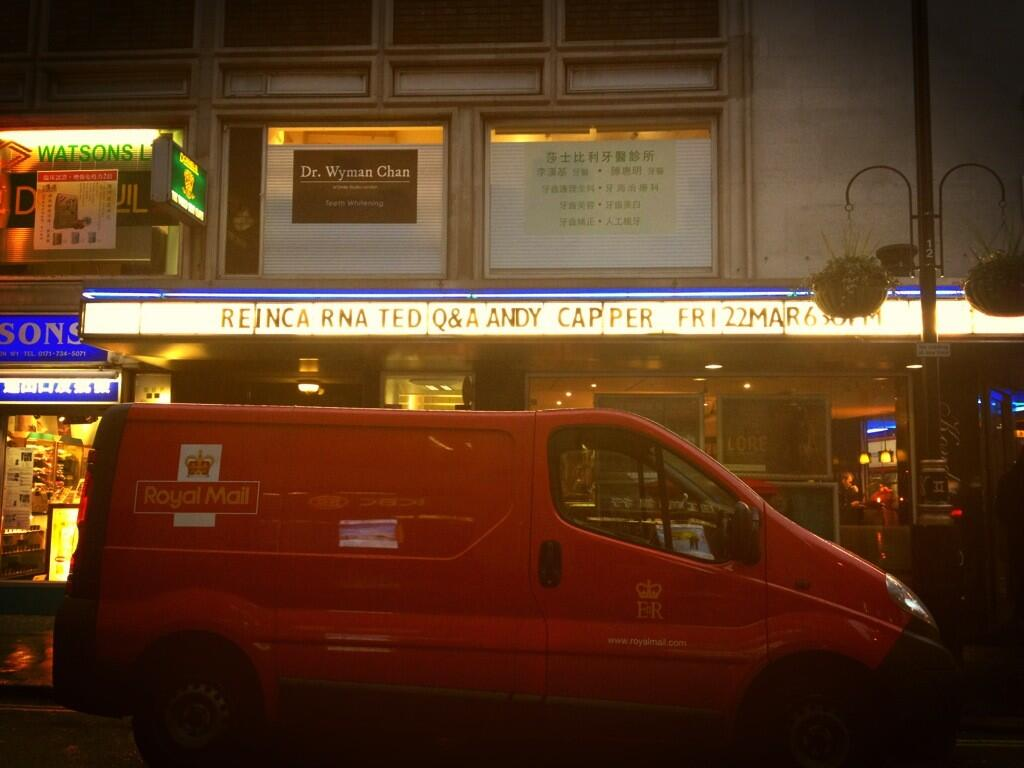 Twitter / dogwoof: We're @CurzonCinemas Soho for ...