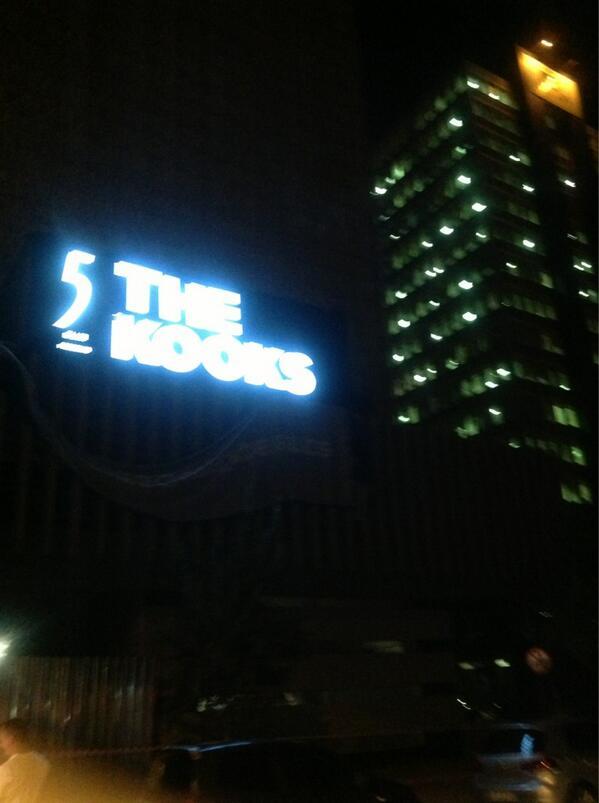 The Kooks! http://t.co/q1tDXbMCSL