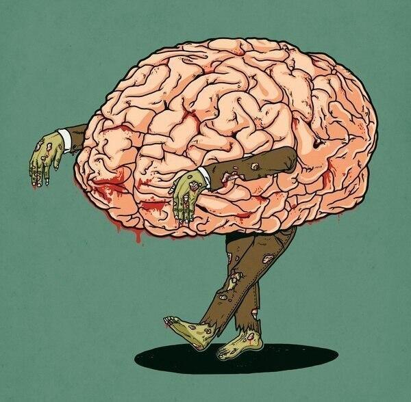 Картинки о мозге прикольные, малышу