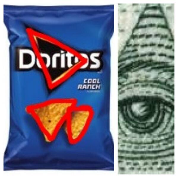 Image result for illuminati doritos