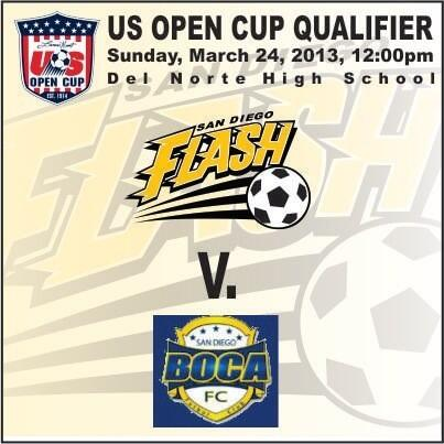 Twitter / SDFlashSoccer: @USOPENCUP Soccer in ...