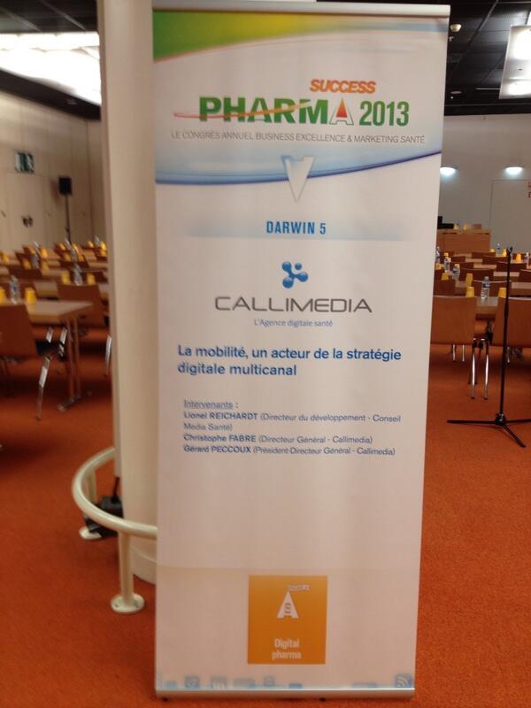 Conference su la mobilité a 09h00 à #pharmasuccess #esante #health20fr http://t.co/rDCM7Ij2c6