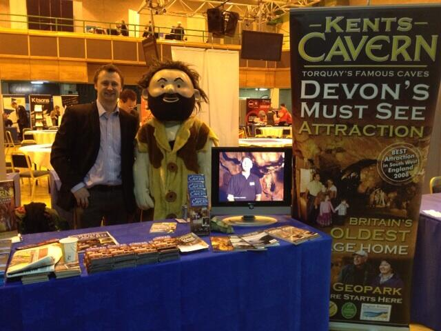 Twitter / KentsCavesCavog: Here I am with James from Kents ...