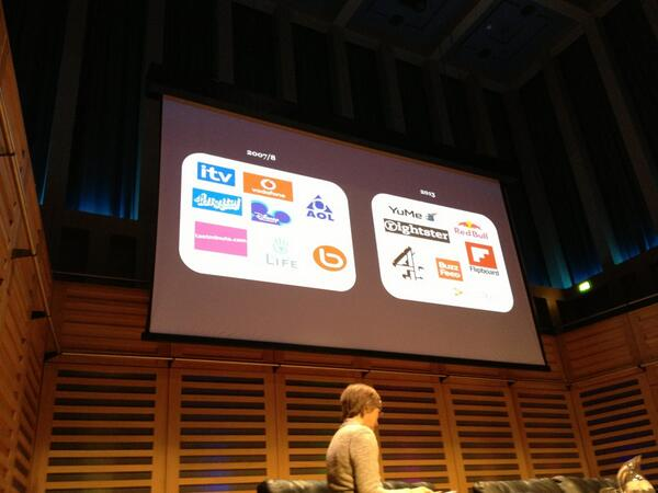 Lots to talk about today, nice way to kick things off with this slide, how digital businesses come and go #cms2013 http://pic.twitter.com/cw7hHAp7pR
