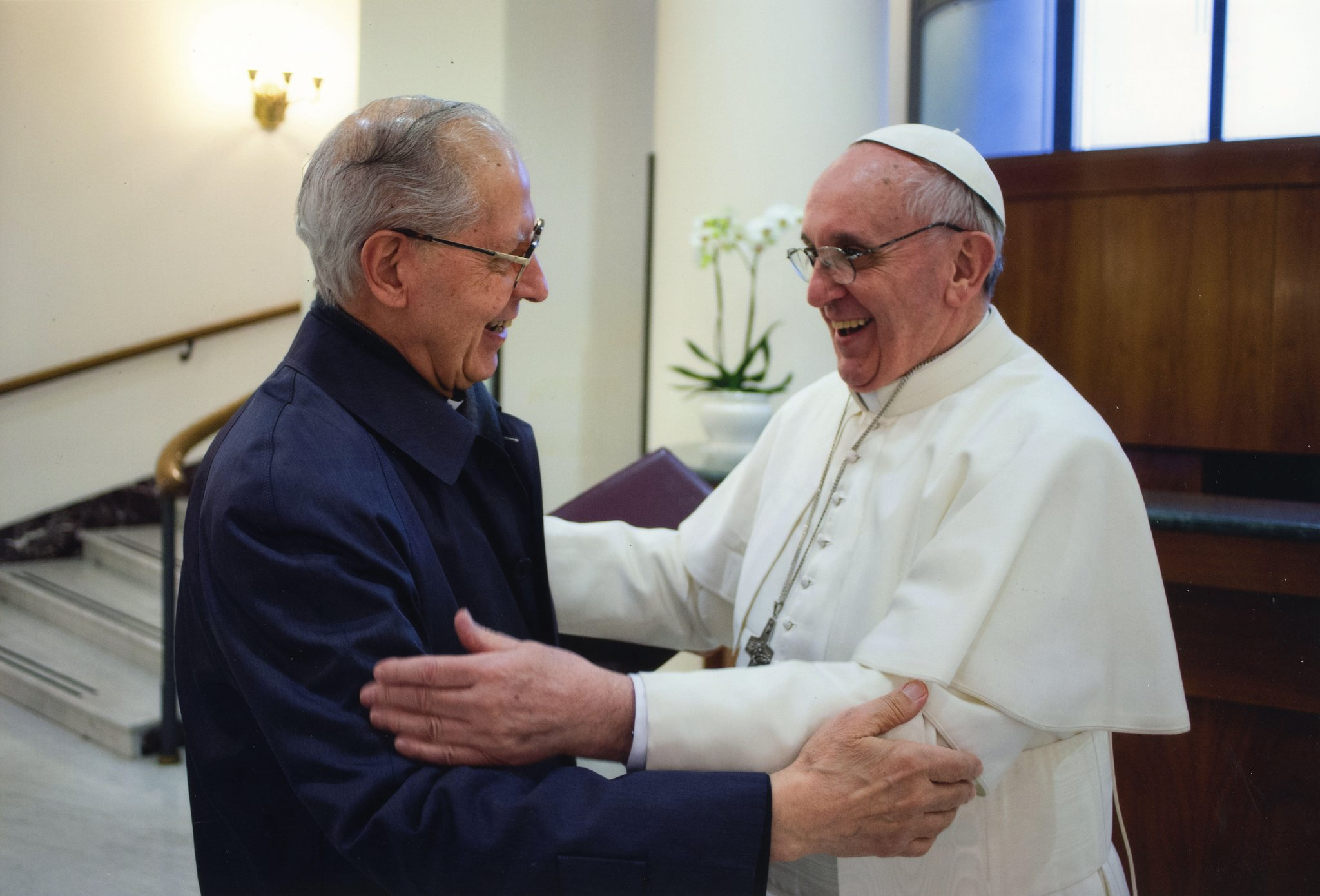 Pope & Jesuit Superior General