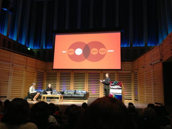 #cms2013 fascinating insights into creative advertising from R/GA London @R/GA (Snazzy venn diagram too!) http://pic.twitter.com/18QDtIrxHu
